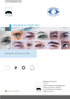 Vignette Catalogue Implants intra-oculaires