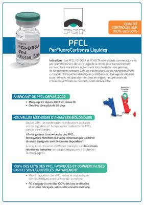 Vignette Plaquette Perfluorocarbones liquides PFCL