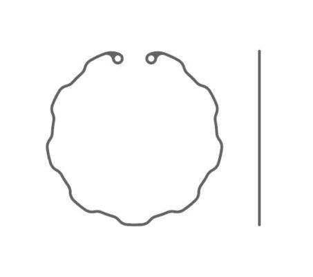 Anneau de tension capsulaire préchargé – Type 10C JET