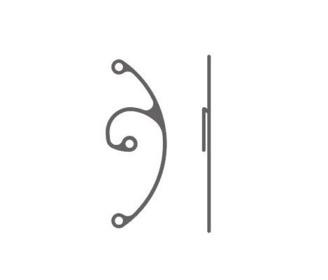 Anneau de segment pour fixation sclérale