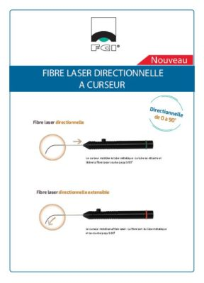 Vignette Plaquette fibres laser directionnelles à curseur