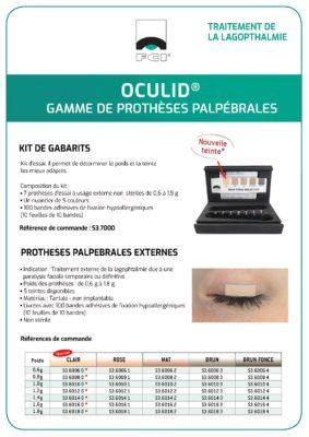 Vignette Plaquette Oculid®